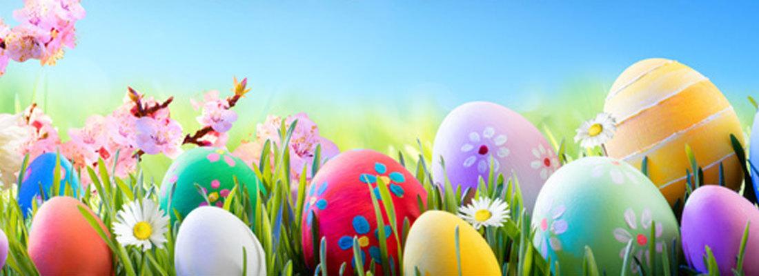 Dekoracja okien na Wielkanoc