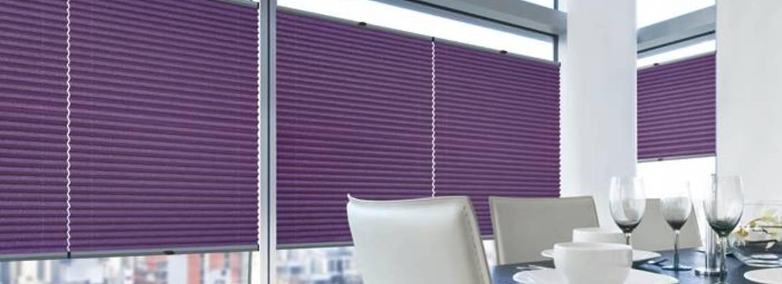 Żaluzje plisowane – oryginalny pomysł na osłonę okna
