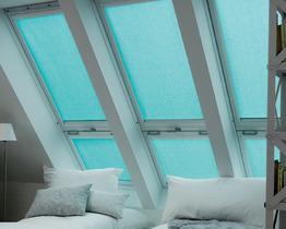 Roleta VELUX RSL dekoracyjna solarna