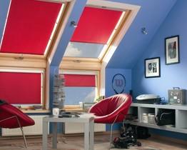 Roleta FAKRO ARS dekoracyjna eko WYPRZEDAŻ -50% WYMIAR 55x98 Kolor 007