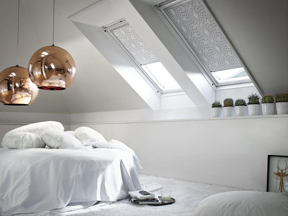 Tende oscuranti per finestre da tetto fakro e velux