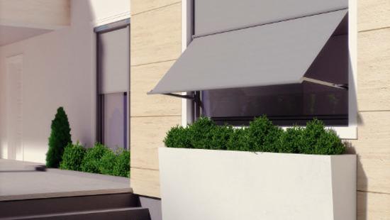 Forskellige Vindues solskærme lodret - online butik MC48
