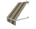 Markizy balkonowe pasy zielone