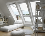 VELUX RML dekoratives elektrisches Rollo